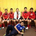 U-14 SECOND PLACE TURF CITY THANKSGIVING 2011