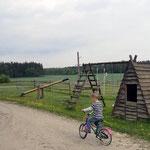 Kinderspielplatz auf dem Peterbartl-Hof