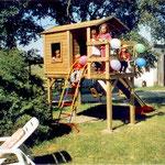 unser Spielhaus für die Kleinsten Besucher