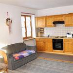 Wohnküche Ferienwohnung 2
