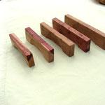 Möbelgriffe aus Wacholderholz, geölt