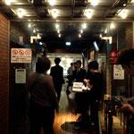 入り口で。1Drink(¥500)余計に取られた!!!