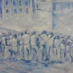 elliottism Acrylmalerei Istanbul Entstehung