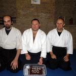 Zsammen mit Fürti und Baranyi Sensei in Budapest