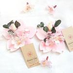 桜のワックスサシェ