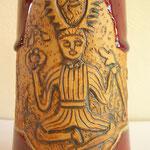 """Gravure Cernunnos Dieu celte dit """"le cornu"""""""