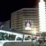 名古屋栄周辺は、夜もキラキラ☆彡