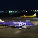 FDAは機体ごとに色が違うんですね。