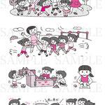 ナツメ社 子どもの育ちを考える幼稚園幼児指導要録の書き方&文例集