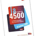 Le 26 janvier 2006 la sncf réunissait 4500 nouveaux embauchés Porte de Versailles à Paris