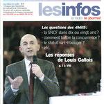"""L'ambiance de kermesse et l'échange riche et dense des jeunes embauchés avec Louis Gallois, alors Président de la SNCF. Concurrence, statut, évolutions métier: tout a été abordé lors de cette """"grand-messe""""."""