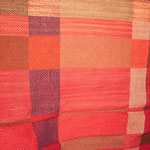 Decke Rot, Material  – Wolle