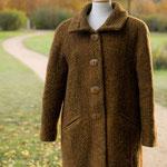 Mantel kurz – Wollfrottee/ Wolle – Zickzackköper
