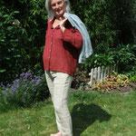 Leinenhose, Bluse, Material – Bw-Leinengemisch/ Leinen, Bindung – Flechtköper