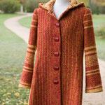 Mantel mit Kapuze – Wollfrottee