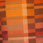 Decke Herbstlicht, Bindung – Drell, Material  – Wolle
