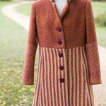 Mantel tailliert – Wollfrottee
