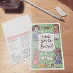 Vie's Girls Festival DMデザイン 2016年3月