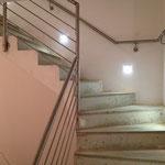 Treppe im Einfamilienhaus