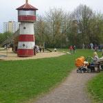 Piraten-Spielplatz an der Seepromenade