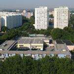 Blick vom Seeadlerhaus in Richtung Neustädter Platz