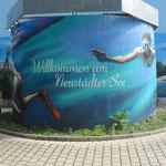 Neustädter Platz- Wandgraffiti