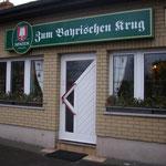 Bayrischer Krug- Gaststätte bei Homanns