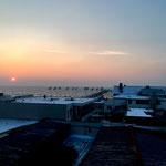 "Sonnenaufgang in der Wohnung ""54 Grad Meer"""