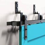 Dubbel schuifdeursysteem meerdere deuren