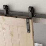 Dubbele schuifdeur loftdeur kastenwand enkele rail