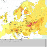 Kontaminierung Europa