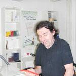 Bernhard Knoll, der Galeriebesitzer