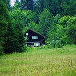 In dieser Hütte machte ich als 5jährige Urlaub mit meinen Eltern