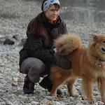 Luna und Birgitt - ein Team