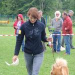Luna erreichte den 2. Platz bei den ECA Österreichsiegern