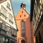 Fachwerkhaus, Stadtkirche, Rathaus