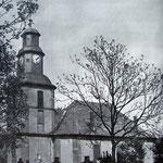Nordöstlicher Teil des Friedhofs um 1910
