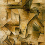 En 1910, il peint Le Guitariste.
