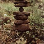 Goldsworthy Andy, rochers en équilibre..