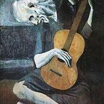Durant les premières années du XXème siècle, Pablo Picasso connaît  la période bleue.