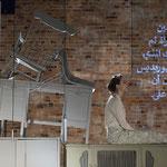 Eurydike. Orpheus., Rolle: Eurydike, Autorin & Regie: Franziska Werner, Ausstattung & Video: Gesine Geppert, Oldenburgisches Staatstheater 2016, Foto: Stephan Walzl