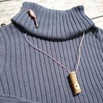 ウグイス笛とエナガのブローチ