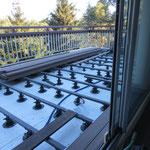 Terrasse sur plot Zoom
