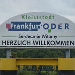 Der Besuch in Frankfurt/Oder hat uns nicht wirklich begeistert