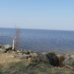Ein See, der fast schon ein Meer ist