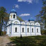 Eine russisch-orthodoxe Kirche darf auch hier nicht fehlen