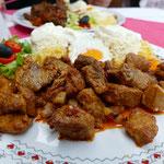 Und wir genießen ein letztes, leckeres Abendessen in Rumänien