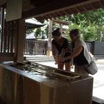 Und noch ein Tempelchen - diesmal im Herzen Tokios...