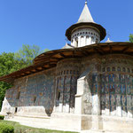 Et voilá - die Sixtinische Kapelle des Ostens. Das Kloster Voronet