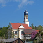 """Wallfahrtskirche """"Zur schmerzhaften Mutter Gottes"""" in Birenbach"""